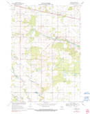 Download a high-resolution, GPS-compatible USGS topo map for Sherry, WI (1990 edition)