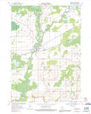 Download a high-resolution, GPS-compatible USGS topo map for Shiocton, WI (1992 edition)