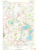 Download a high-resolution, GPS-compatible USGS topo map for Silver Lake, WI (1972 edition)