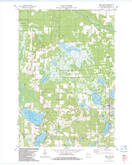 Download a high-resolution, GPS-compatible USGS topo map for Siren West, WI (1983 edition)