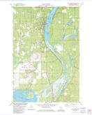 Download a high-resolution, GPS-compatible USGS topo map for Solon Springs, WI (1982 edition)