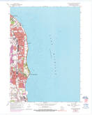 Download a high-resolution, GPS-compatible USGS topo map for South Milwaukee, WI (1976 edition)