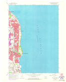 Download a high-resolution, GPS-compatible USGS topo map for South Milwaukee, WI (1973 edition)