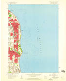 Download a high-resolution, GPS-compatible USGS topo map for South Milwaukee, WI (1960 edition)