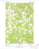 Download a high-resolution, GPS-compatible USGS topo map for South Range, WI (1977 edition)