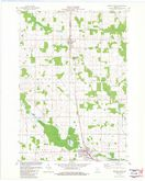 Download a high-resolution, GPS-compatible USGS topo map for Spencer North, WI (1983 edition)