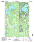 Download a high-resolution, GPS-compatible USGS topo map for Spider Lake, WI (2006 edition)