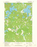 Download a high-resolution, GPS-compatible USGS topo map for Spider Lake, WI (1973 edition)