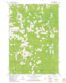 Download a high-resolution, GPS-compatible USGS topo map for Spirit, WI (1980 edition)