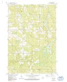 Download a high-resolution, GPS-compatible USGS topo map for Spirit, WI (1991 edition)