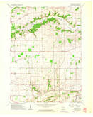 Download a high-resolution, GPS-compatible USGS topo map for Springfield, WI (1962 edition)