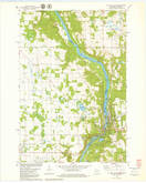 Download a high-resolution, GPS-compatible USGS topo map for St Croix Dalles, WI (1979 edition)