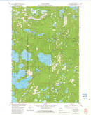 Download a high-resolution, GPS-compatible USGS topo map for Star Lake, WI (1982 edition)