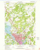 Download a high-resolution, GPS-compatible USGS topo map for Stevens Point, WI (1978 edition)