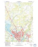 Download a high-resolution, GPS-compatible USGS topo map for Stevens Point, WI (1991 edition)