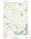 Download a high-resolution, GPS-compatible USGS topo map for Stonebank, WI (1990 edition)
