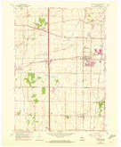 Download a high-resolution, GPS-compatible USGS topo map for Sturtevant, WI (1972 edition)