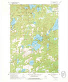 Download a high-resolution, GPS-compatible USGS topo map for Sugar Camp, WI (1986 edition)