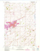 Download a high-resolution, GPS-compatible USGS topo map for Sun Prairie, WI (1983 edition)
