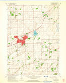 Download a high-resolution, GPS-compatible USGS topo map for Sun Prairie, WI (1964 edition)