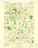 Download a high-resolution, GPS-compatible USGS topo map for Sussex, WI (1961 edition)