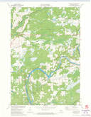 Download a high-resolution, GPS-compatible USGS topo map for Thornapple, WI (1973 edition)