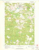 Download a high-resolution, GPS-compatible USGS topo map for Tigerton, WI (1973 edition)
