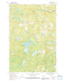 Download a high-resolution, GPS-compatible USGS topo map for Tipler, WI (1992 edition)