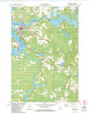 Download a high-resolution, GPS-compatible USGS topo map for Tomahawk, WI (1983 edition)