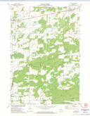 Download a high-resolution, GPS-compatible USGS topo map for Tony, WI (1974 edition)