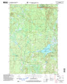Download a high-resolution, GPS-compatible USGS topo map for Totagatic Lake, WI (2006 edition)