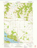 Download a high-resolution, GPS-compatible USGS topo map for Trempealeau, WI (1975 edition)