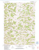 Download a high-resolution, GPS-compatible USGS topo map for Trippville, WI (1984 edition)