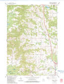 Download a high-resolution, GPS-compatible USGS topo map for Tunnel City, WI (1984 edition)