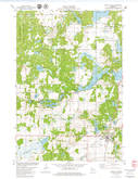 Download a high-resolution, GPS-compatible USGS topo map for Turtle Lake, WI (1979 edition)