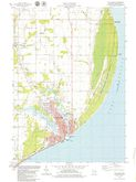 Download a high-resolution, GPS-compatible USGS topo map for Two Rivers, WI (1979 edition)