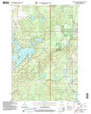 Download a high-resolution, GPS-compatible USGS topo map for Upper Eau Claire Lake, WI (2006 edition)