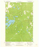 Download a high-resolution, GPS-compatible USGS topo map for Upper Eau Claire Lake, WI (1973 edition)