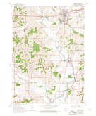 Download a high-resolution, GPS-compatible USGS topo map for Verona, WI (1970 edition)