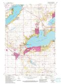 Download a high-resolution, GPS-compatible USGS topo map for Walworth, WI (1994 edition)