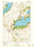 Download a high-resolution, GPS-compatible USGS topo map for Walworth, WI (1972 edition)