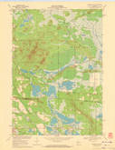 Download a high-resolution, GPS-compatible USGS topo map for Warrens East, WI (1972 edition)