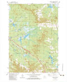 Download a high-resolution, GPS-compatible USGS topo map for Warrens West, WI (1984 edition)