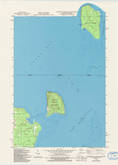 Download a high-resolution, GPS-compatible USGS topo map for Washington Island NE, WI (1994 edition)