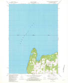 Download a high-resolution, GPS-compatible USGS topo map for Washington Island NW, WI (1982 edition)