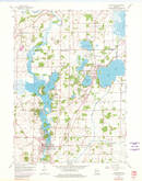 Download a high-resolution, GPS-compatible USGS topo map for Waterford, WI (1980 edition)