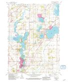 Download a high-resolution, GPS-compatible USGS topo map for Waterford, WI (1994 edition)