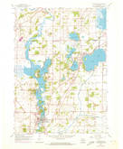 Download a high-resolution, GPS-compatible USGS topo map for Waterford, WI (1973 edition)