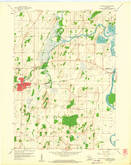 Download a high-resolution, GPS-compatible USGS topo map for Waterloo, WI (1960 edition)