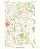 Download a high-resolution, GPS-compatible USGS topo map for Waterloo, WI (1990 edition)
